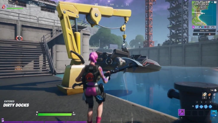 fortnite boat launch gameplay