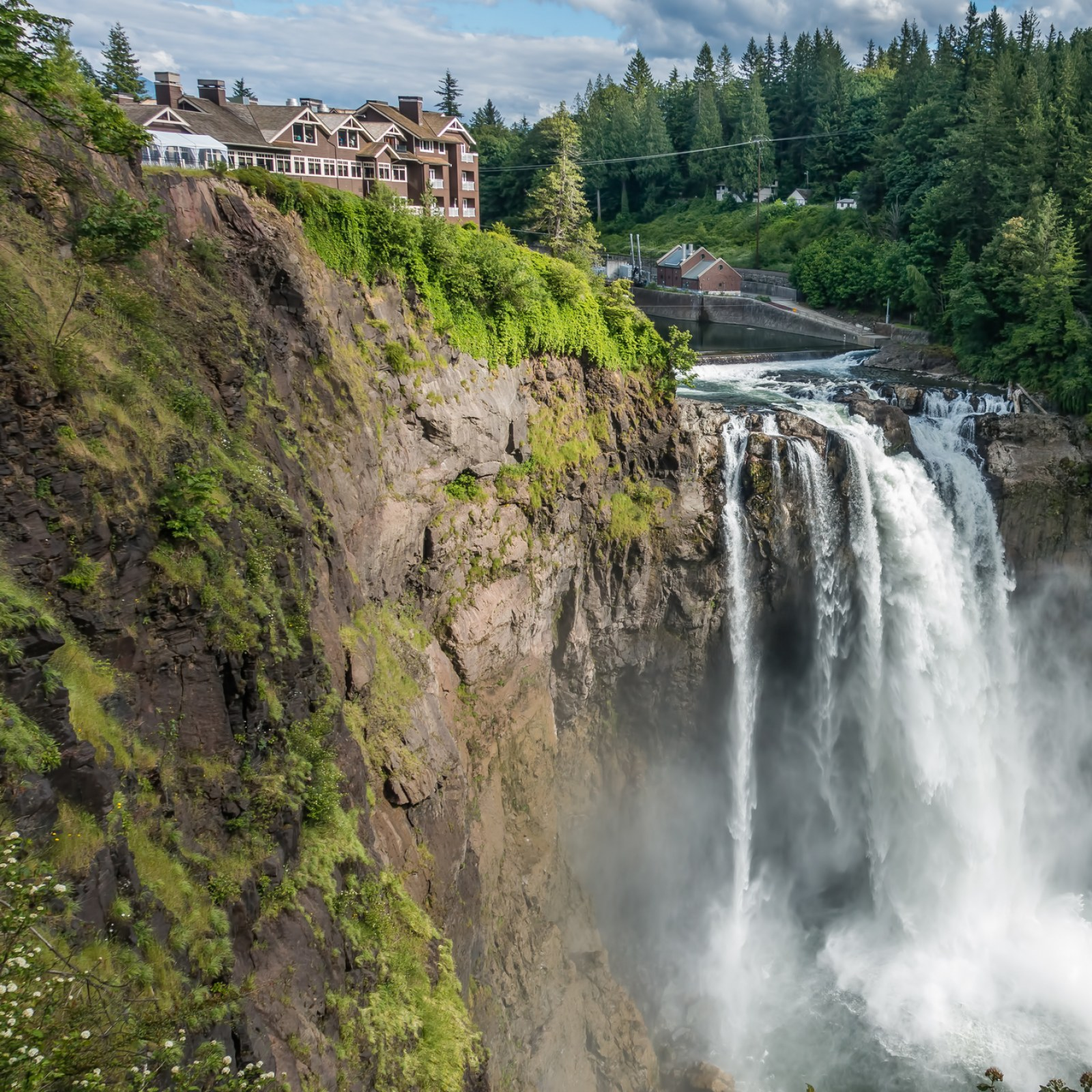 Tribe Ing Iconic Snoqualmie Falls
