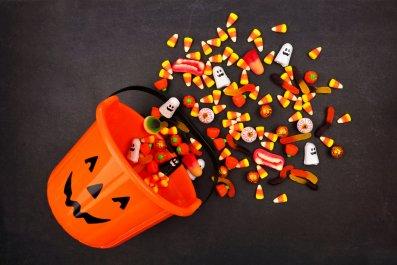 halloween, jack o lantern, trick treat, stock