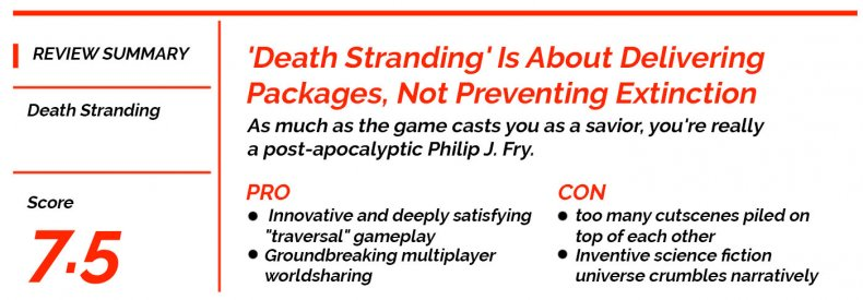 Death Stranding Review Summary