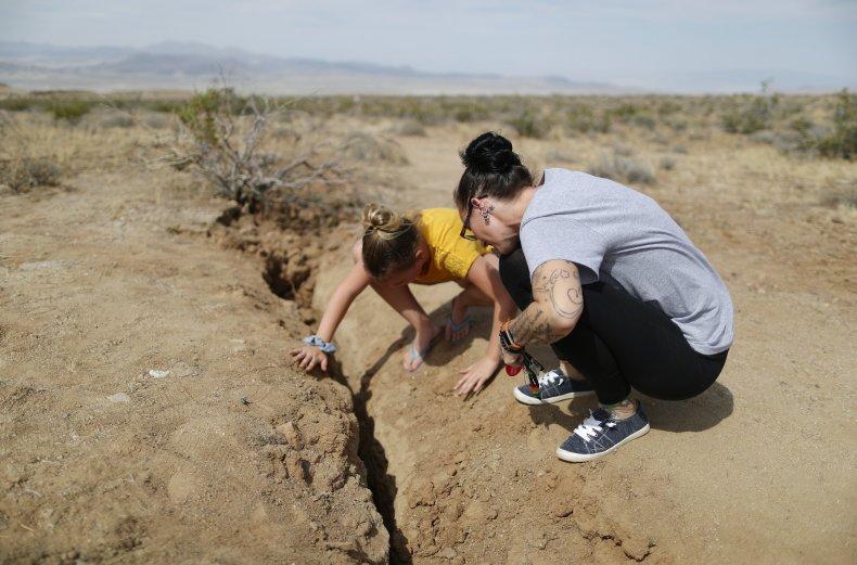 Ridgecrest earthquakes