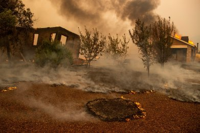 early action decision college extended wildfire california