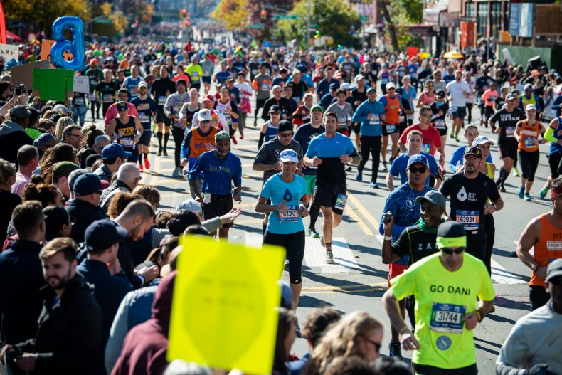 new york city marathon route road closures