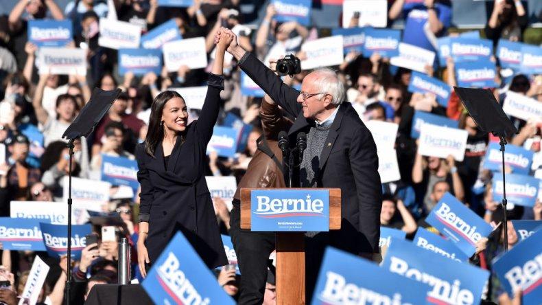 Alexandria Ocassio-Cortez; Bernie Sanders