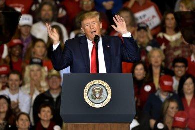 Donald Trump in Tupelo, Mississippi
