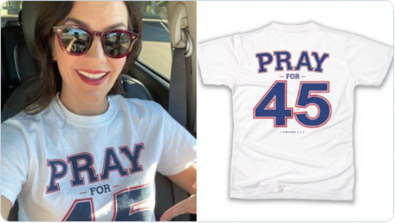 pray for 45 graham t-shirt