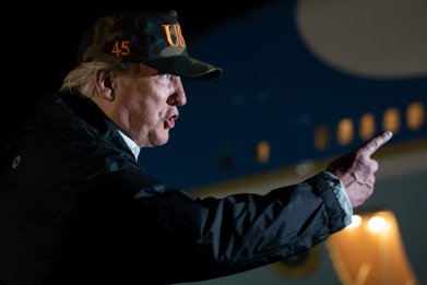 Trump Mocks CA Governor's FEMA Request