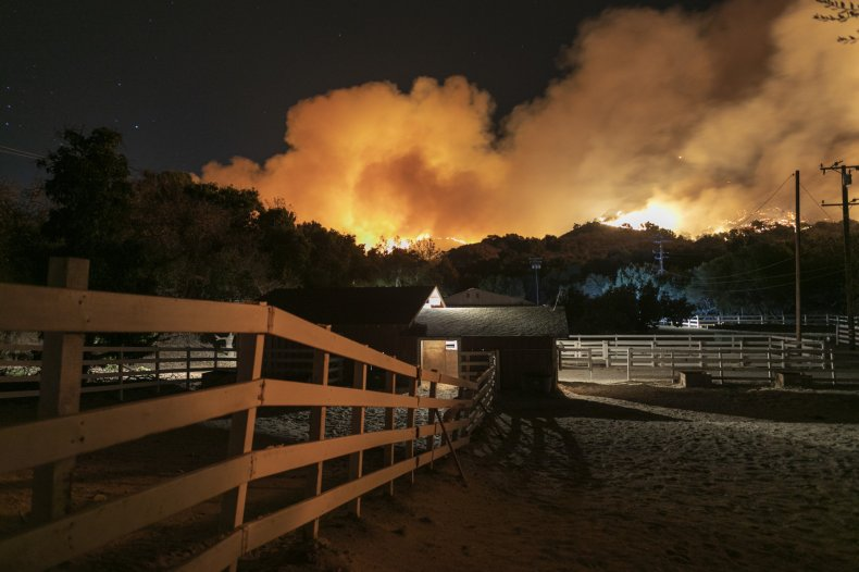 Maria Fire Somis California
