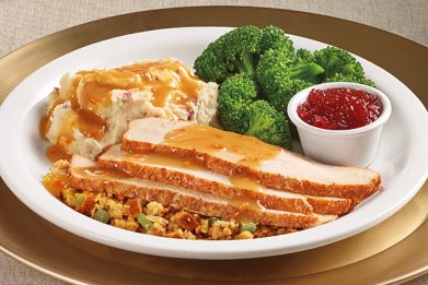 Denny's Turkey Dinner