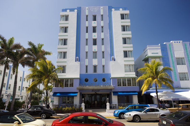 Park Central Hotel Miami Art Deco