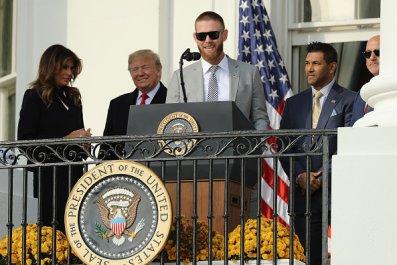 Stephen Strasburg White House Trump