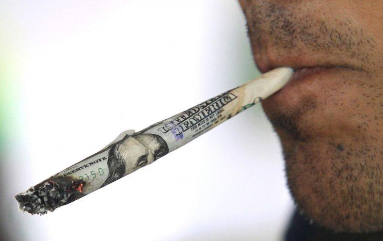 marijuana, money