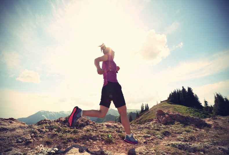 running, fitness, exercise, outdoors, stock, getty