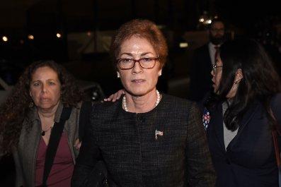 Marie Yovanovitch, Donald Trump, Ukraine, impeachment, intimidation