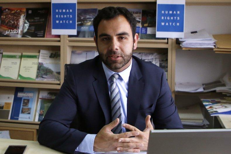 Omar Shakir, HRW, Israel, BDS, deportation