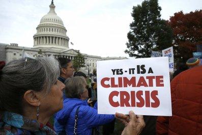 demonstrator climate change