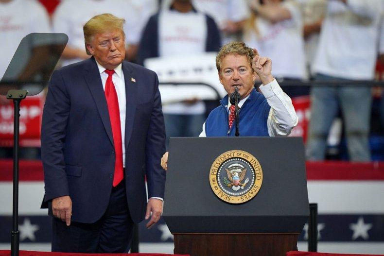 Donald Trump and Rand Paul