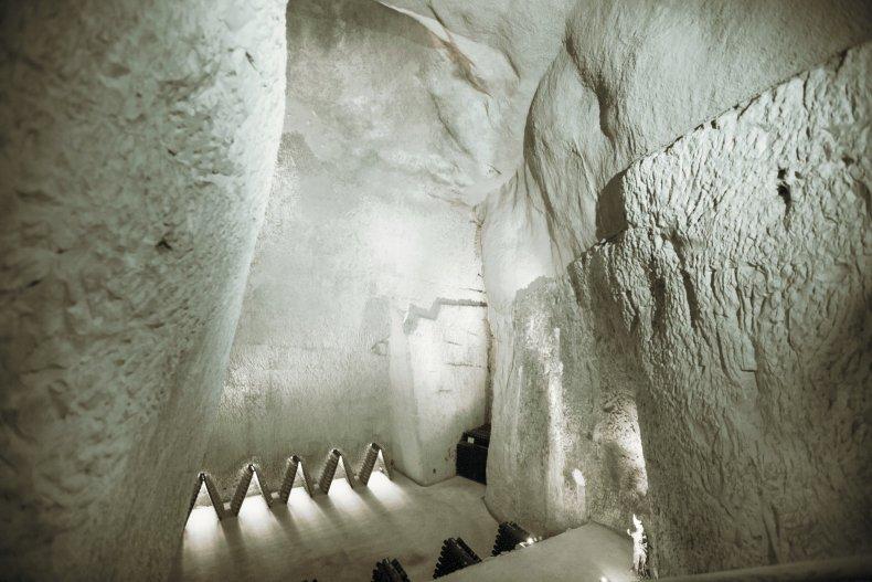Ruinart Chalk Caves