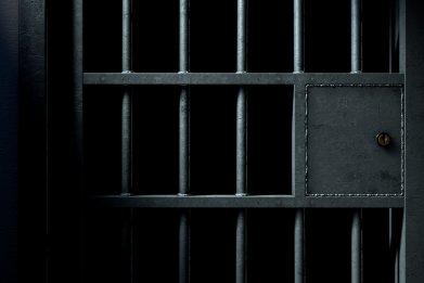 jail cell, jail door, jail bars