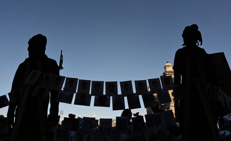 MEXICO-CRIME-VIOLENCE-RIGHTS-DISAPPEARED