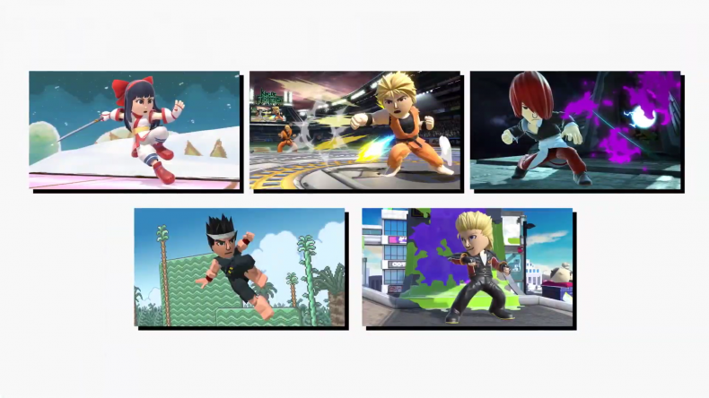 smash ultimate mii fighters snk