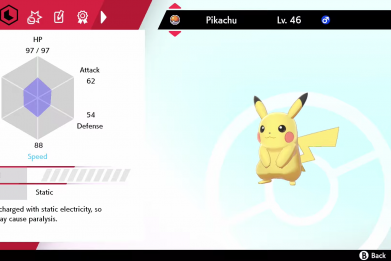 pokemon sword shield pikachu training