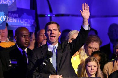 democratic governorships andy beshear kentucky 2019