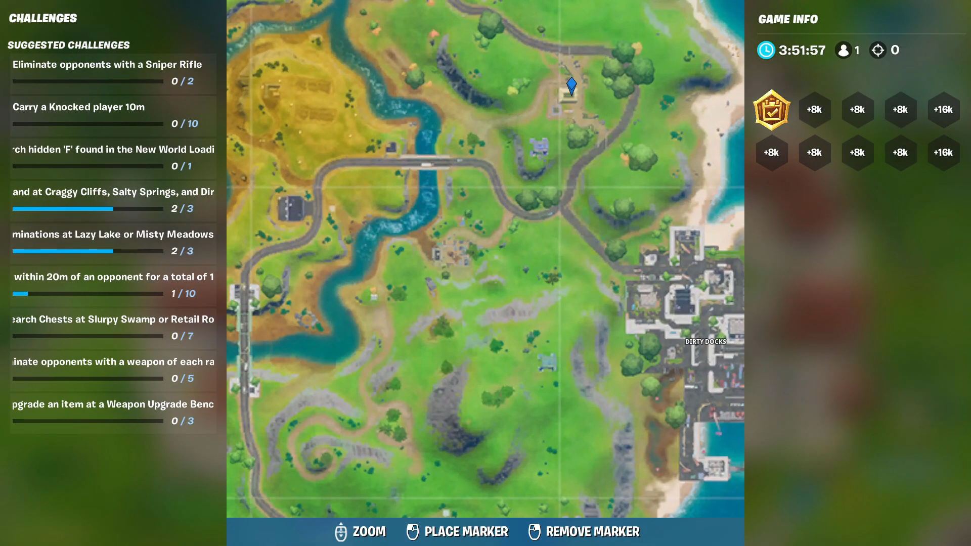 Fortnite All Ego Outpost Locations Lowdown Week 5 Challenge