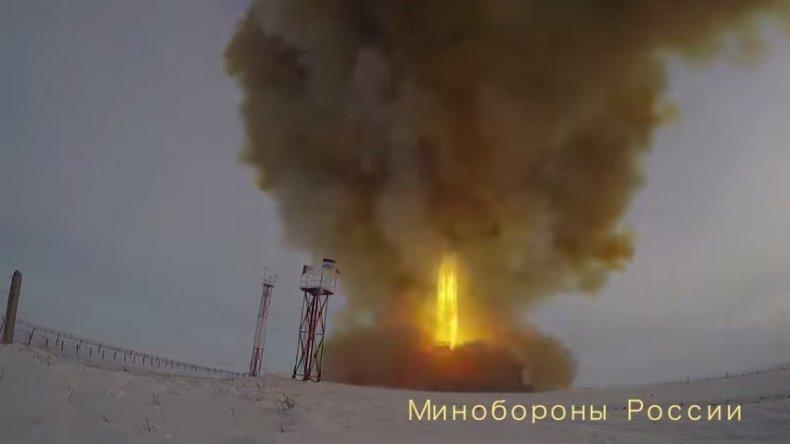 russia military avangard glide vehicle test