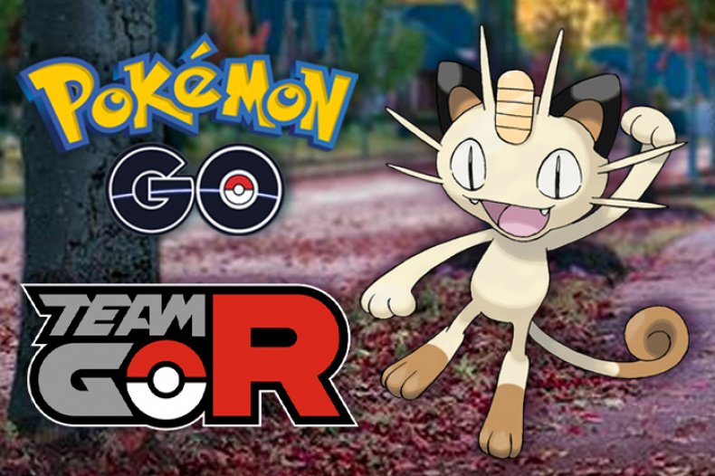 pokemon go team rocket event shiny meowth
