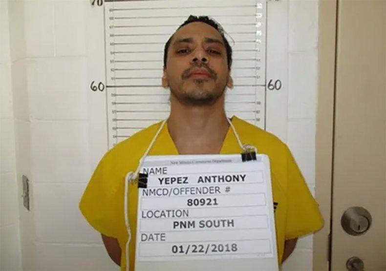 Anthony Blas Yepez mugshot