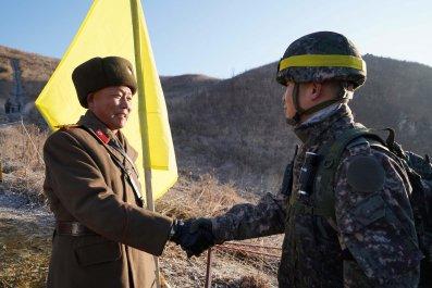 north south korea military border dmz