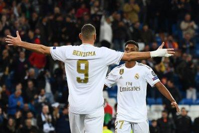 Real Madrid, Rodrygo, Karim Benzema