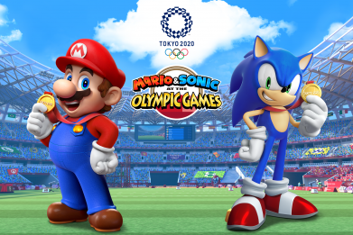 Mario and Sonic Olympic Games Tokyo 2020