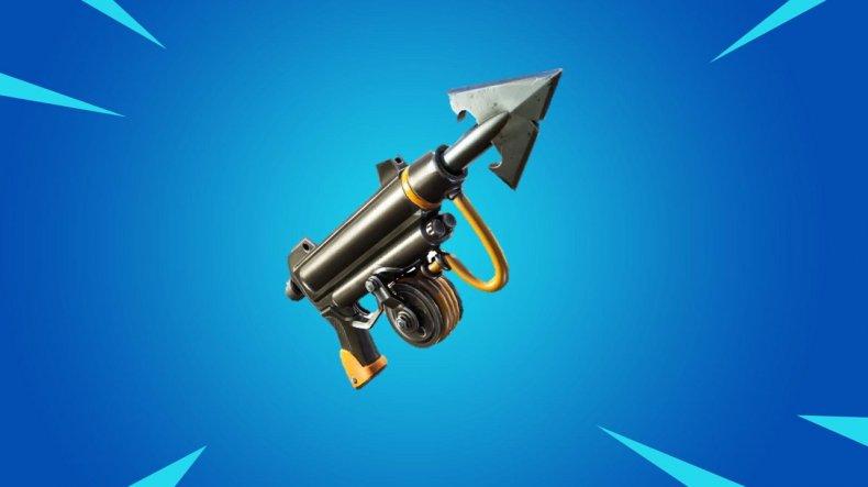 fortnite harpoon gun 244 update