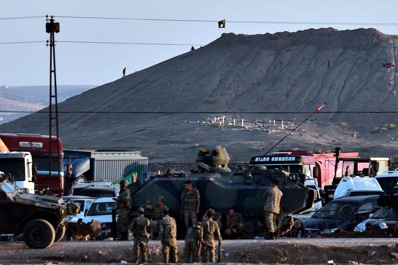 turkey military border isis syria