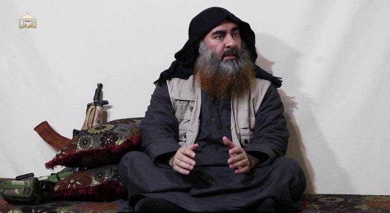 isis leader baghdadi video april