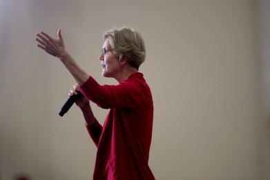 Warren Besting Biden in Battleground States