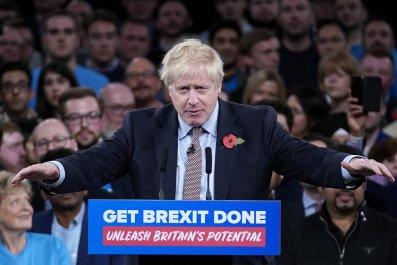 Boris Johnson Rally