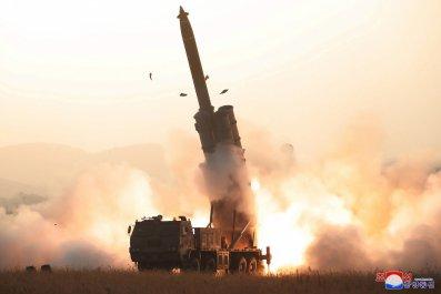 north korea multiple rocket launch system