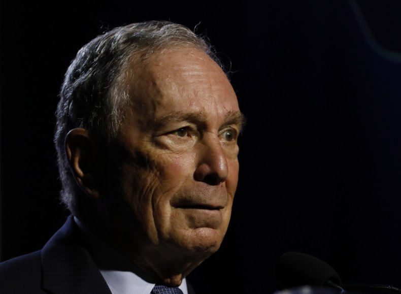Michael Bloomberg president age 2020 campaign
