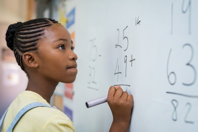 math, child, student, girl, learning, stock, getty