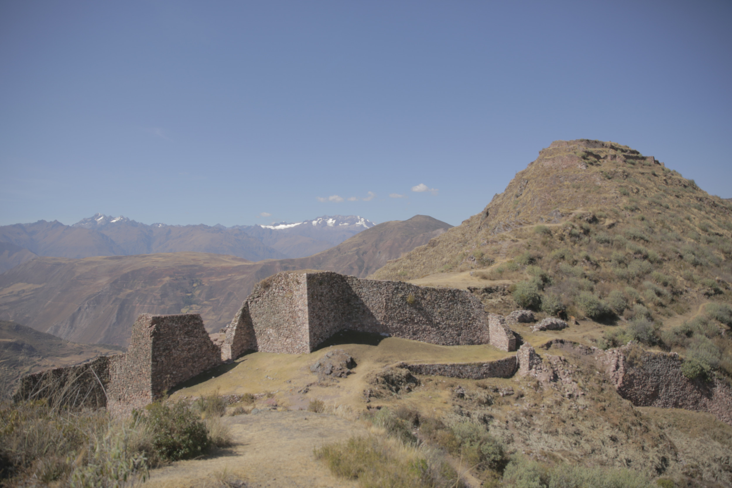 Ancient Inca city located 13,000 feet high in Peruvian Andes revealed by laser technology