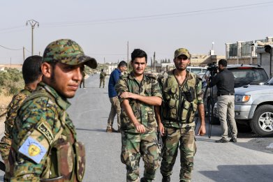 syria military manbij council deal aleppo war