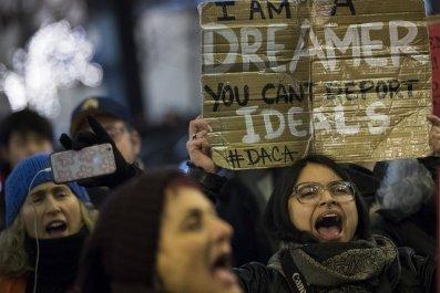 DACA DREAMer Protester