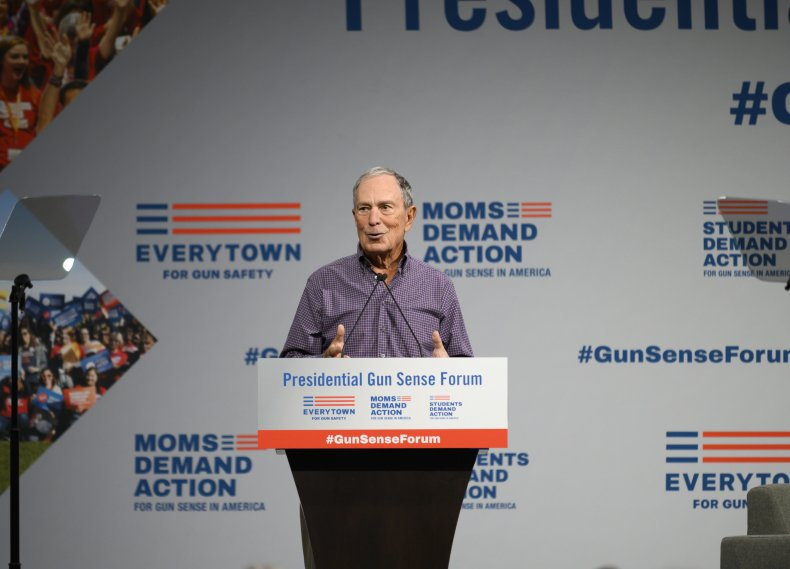 Michael Bloomberg 2020 candidate