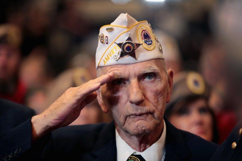 Army veteran Dale Purdy