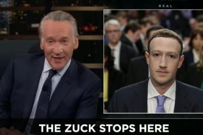bill maher facebook mark zuckerberg