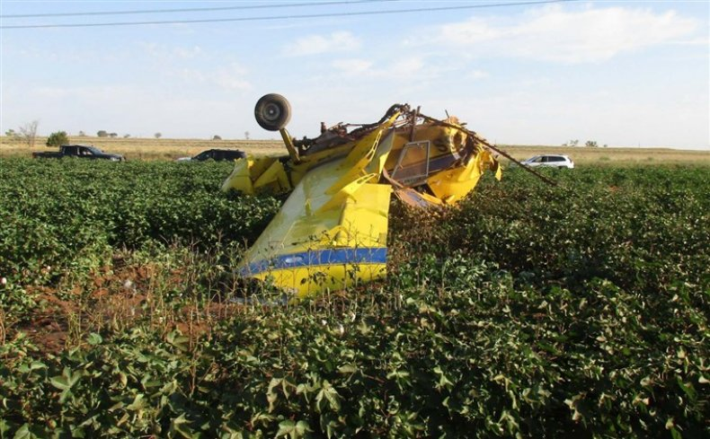 Plane crash Turkey Texas