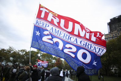 Trump NYC supporters